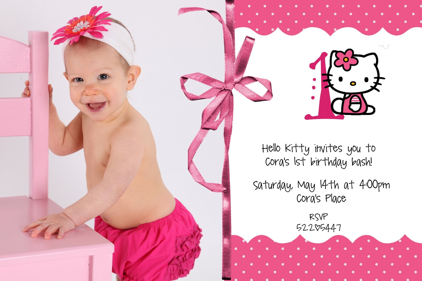 Download image Hello Kitty Invitation Template PC, Android, iPhone and ...