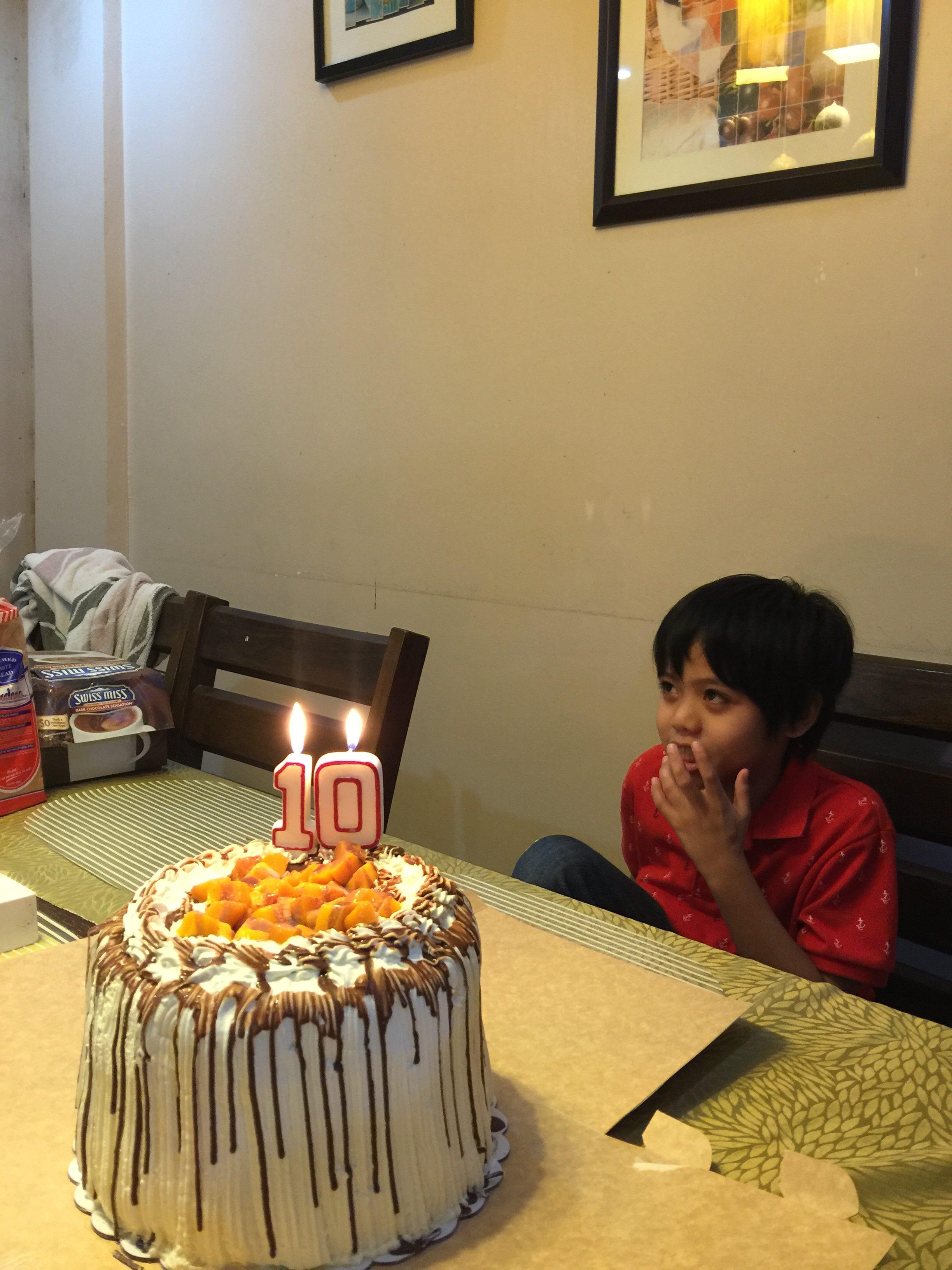 Gareth's 10th Birthday