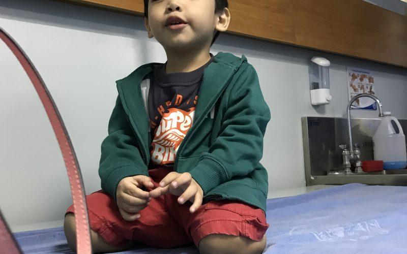 Xavier at ER