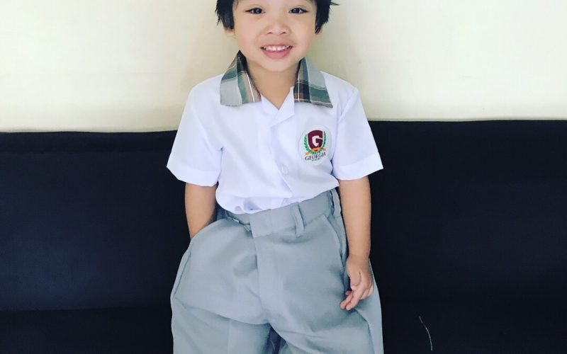 Wearing Uniform for the First Time