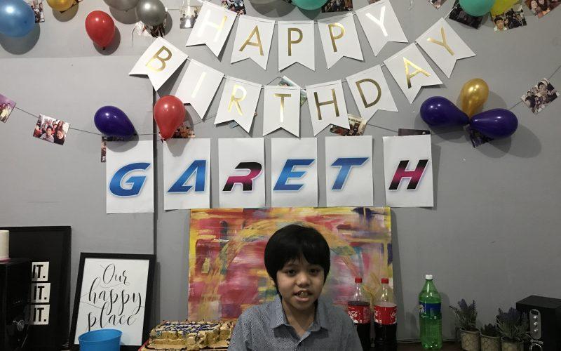 Gareth's 11th Birthday