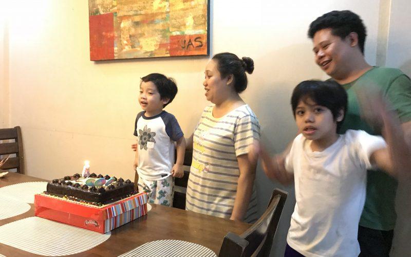 Xavier's Birthday Salubong